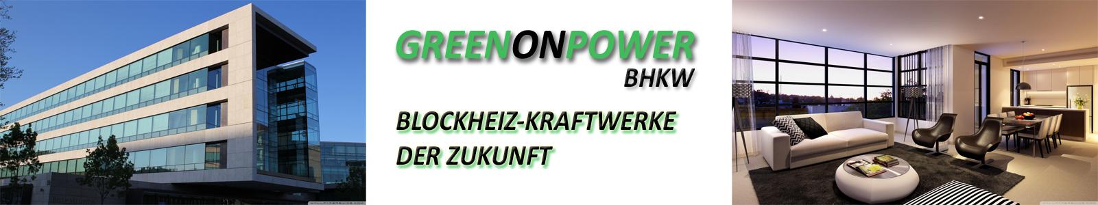 GREENonPOWER BHKW - Blockheizkraftwerk